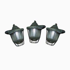 Lampe Industrielle Vintage de Polam Gdańsk