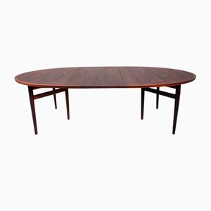 Grande Table de Salle à Manger Modèle 212 en Palissandre par Arne Vodder pour Sibast, Danemark, 1950s