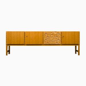Mid-Century French Oak Sideboard, 1960s