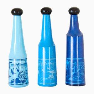 Vintage Likörflaschen von Salvador Dali für Rosso Antico, 3er Set