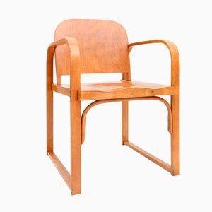 Tschechischer Vintage Sperrholz Stuhl von Tatra
