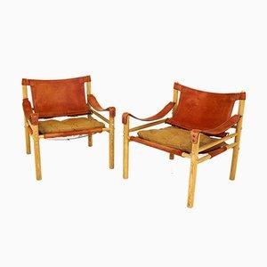 Sirocco Armlehnstühle von Arne Norell, Schweden, 1960er, 2er Set