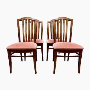 Vintage Teak Dining Chairs by Stag, Set of 4