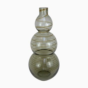 Cenedese Murano Mid-Century Vase aus geblasenem Glas