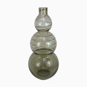 Vase Mid-Century en Verre Soufflé de Murano