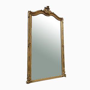 Large Gilded Mirror, Early 20th-Century