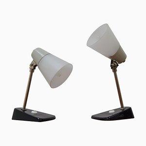 Lampes de Bureau Mid-Century, 1970s, Set de 2