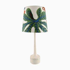 Tischlampe mit buntem Schirm von Hans-Agne Jakobsson für A / B Markaryd