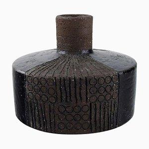Glasierte Keramik Vase von Inger Persson für Rörstrand, 1960er