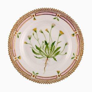Royal Flora Flora Danica Desserteller aus handbemaltem Porzellan