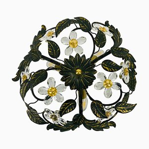 Florentiner Blumen-Scheinwerfer von Banci Firenze, 1960er