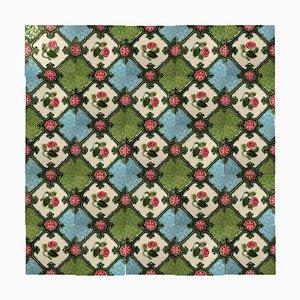 Glazed Relief Tile by S. A. Produits Ceramiques De La Dyle, 1930s