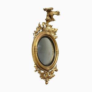 Regency Bullseye Mirror, 19th Century