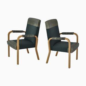 Armlehnstühle von Alvar Aalto, 1962, 2er Set