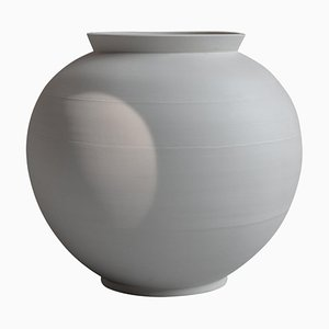 White Porcelain Moon Jar