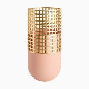 Pink Mia Tall Vase by Serena Confalonieri