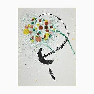 Joan Miró, Composition, Original Lithograph, 1968
