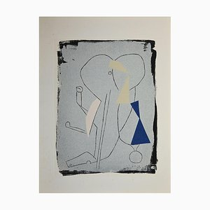 Marino Marini, Juggler, Original Etching and Aquatint, 1963