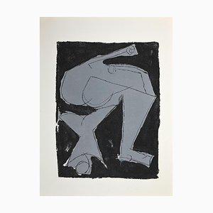 Marino Marini, Warrior, Original Etching and Aquatint, 1963
