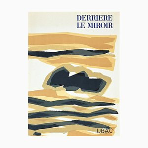 Raoul Ubac, Cover for Behind the Mirror, Original Lithograph, 1964