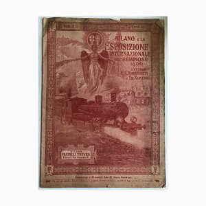 Unknown, Milan and Its International Exhibition, Vintage Catalog, 1906