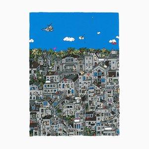 Fischen in den Wolken, Stadtbild, Guillaume Cornet, 2015