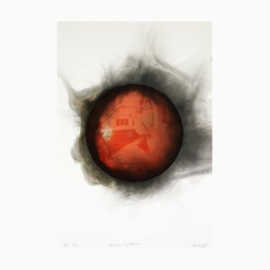 Retina Capture 2, Smoke on Paper, 2010