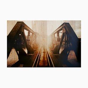 Crossing Bridges, Photo on Wood, 2011