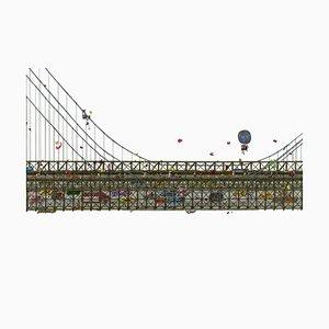 Brooklyn Bridge, Illustration by Guillaume Cornet, 2019