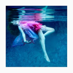 Dream, Underwater Photography, Archival Metallic Paper Contemporary Mounted, 2015