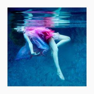Fotografía Dream, Underwater, Archival Metallic Paper Contemporary Mounted, 2015