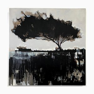 Terranova, Abstract Landscape Landscape Painting, Contemporary Oil on Canvas, 2007