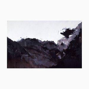 Abstrakte Mirajes Australes III Wanddekoration in Schwarz & Weiß, 2005