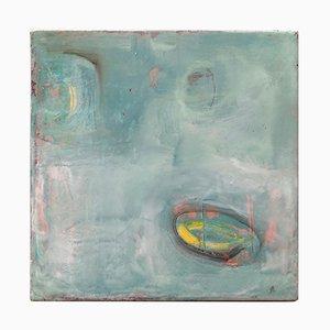 Michele Mikesells, The Wishing Well, Öl auf Leinwand, Abstrakte Bunte Malerei, 2016