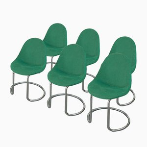 Chairs by Giotto Stoppino for Bernini, 1960s, Set of 6