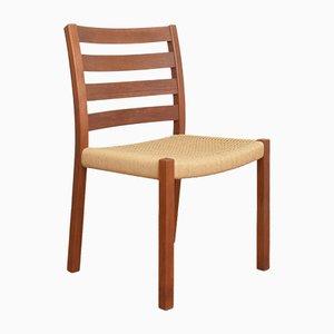 Mid-Century Danish Teak Dining Chair by Niels O. Møller for J. L. Møllers, 1960s.