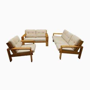 2 sofás y 1 butaca de Esko Pajamies para Asko Bonanza, años 60. Juego de 3