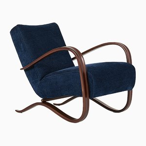 H-269 Lounge Chair by Jindrich Halabala, 1940s