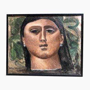 Oleg Zinger, Portrait of a Woman