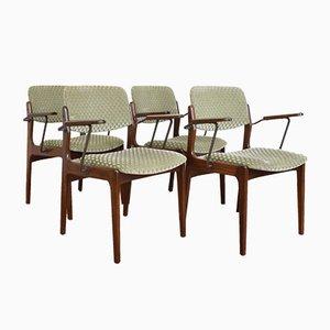 Mid-Century Danish Teak Side Chairs, 1960s, Set of 4