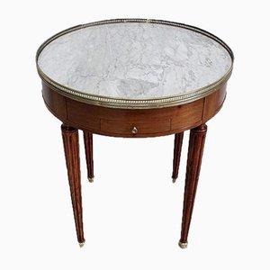 Table Bouillotte en Acajou Style Louis XVI, Début 20ème Siècle