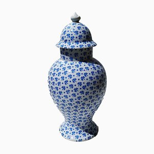 Porcelain Vase by Manuel Canovas, 1980s