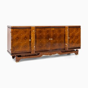 Art Deco Sideboard in the Style of Jules Leleu, France, 1940s
