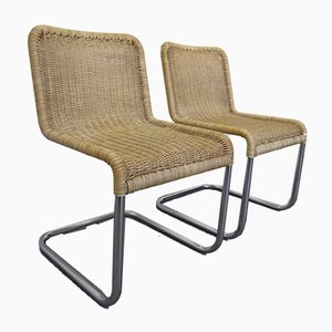 Chairs by A. Lorenz for Tecta, Germany, 1970s, Set of 2