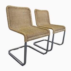 Stühle von A. Lorenz für Tecta, 1970er, 2er Set
