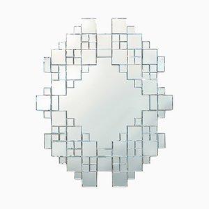 Miroir Inspiré du Style Cubiste, 1970s