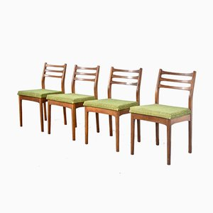 Chaises de Salon Vintage en Teck de Meredew, 1960s, Set de 4