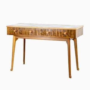 Table Console en Noyer et en Bouleau de Heals, 1960s
