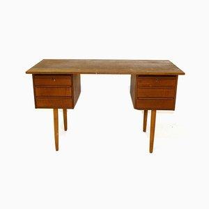 Teak Schreibtisch, Dänemark, 1960er