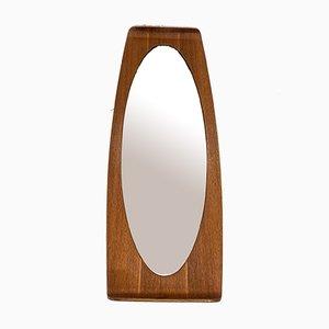 Geschwungener Spiegel aus Holz von Campo e Graffi